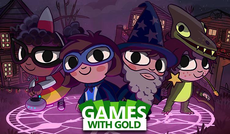 Costume Quest 2 e Peggle disponíveis no Games with Gold