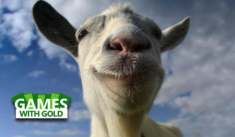 Goat Simulator e Super Meat Boy disponíveis no Games with Gold